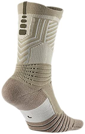 Nike Nk Bball ELT Versa Ascension Calcetines, Hombre, Beige (Bamboo/Light Bone
