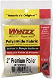 Work Tools International 58008 2-Inch Whizz Premium Mini-Whizz Paint Roller Cover, Gold Stripe, 2-Pack