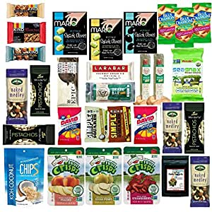 Amazon.com : Healthy Snacks Variety Care Package, Paleo, GlutenFree, Natural Whole Foods