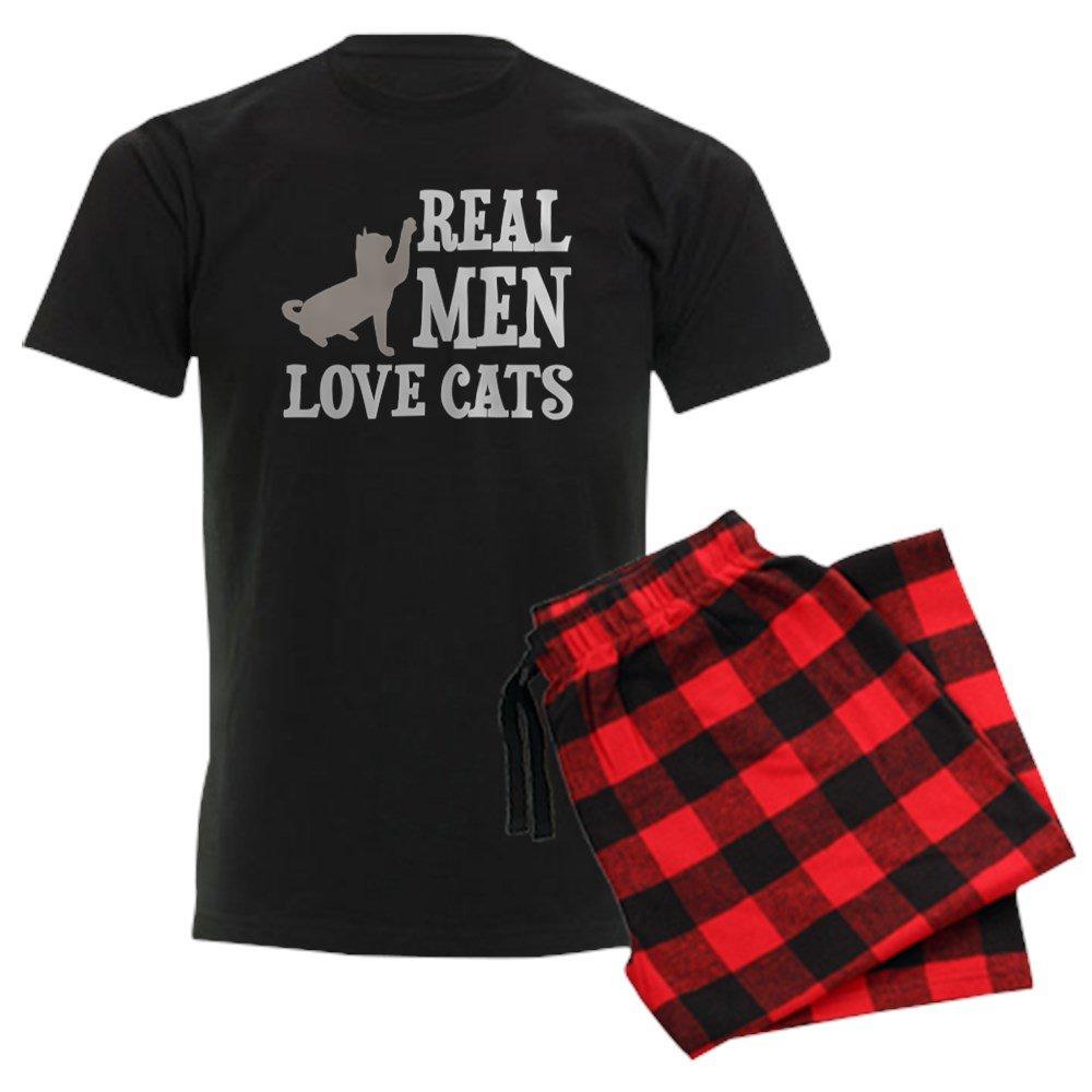 CafePress Real Men Love Cats Pajamas Pajama Set