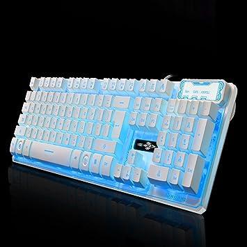 SINCERE@ Mecánica de suspensión retroiluminada teclado USB ...