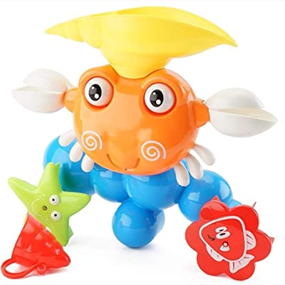 Lihgfw Baby Bath Toys, Water Spray Bathroom Game, Interactive Fun Bathtime Gifts for 12-18 Months, 1-3 Year Olds, Toddlers Infants Girls Boys: Sports & Outdoors