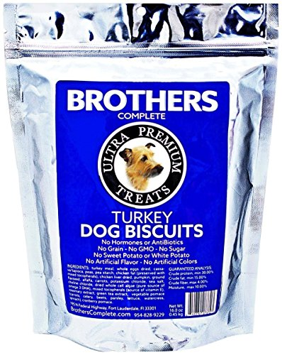 Brothers Complete Turkey Biscuit Treats - 16 oz
