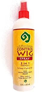 Control Wig Spray 3 In 1 Formula 12Oz