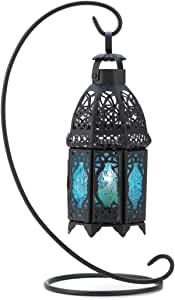 Smart Living Company 14121 Sapphire Night Hanging Table Lantern Candle Holder
