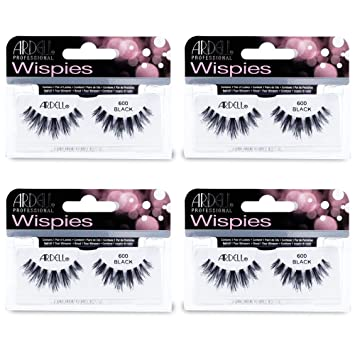 a1ac5d525bc Image Unavailable. Image not available for. Color: Ardell - False Eyelashes  Wispies Cluster 600 ...
