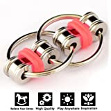 Flippy Chain Fidget Toy Idle Hands Relieve Stress Reducer for Autism, ADD, ADHD, and Autism Boredom your Finger Tips ...