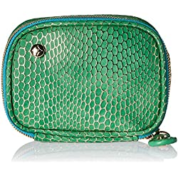 Stephanie Johnson Women's Havana Steph Small Jewelry Case, Green