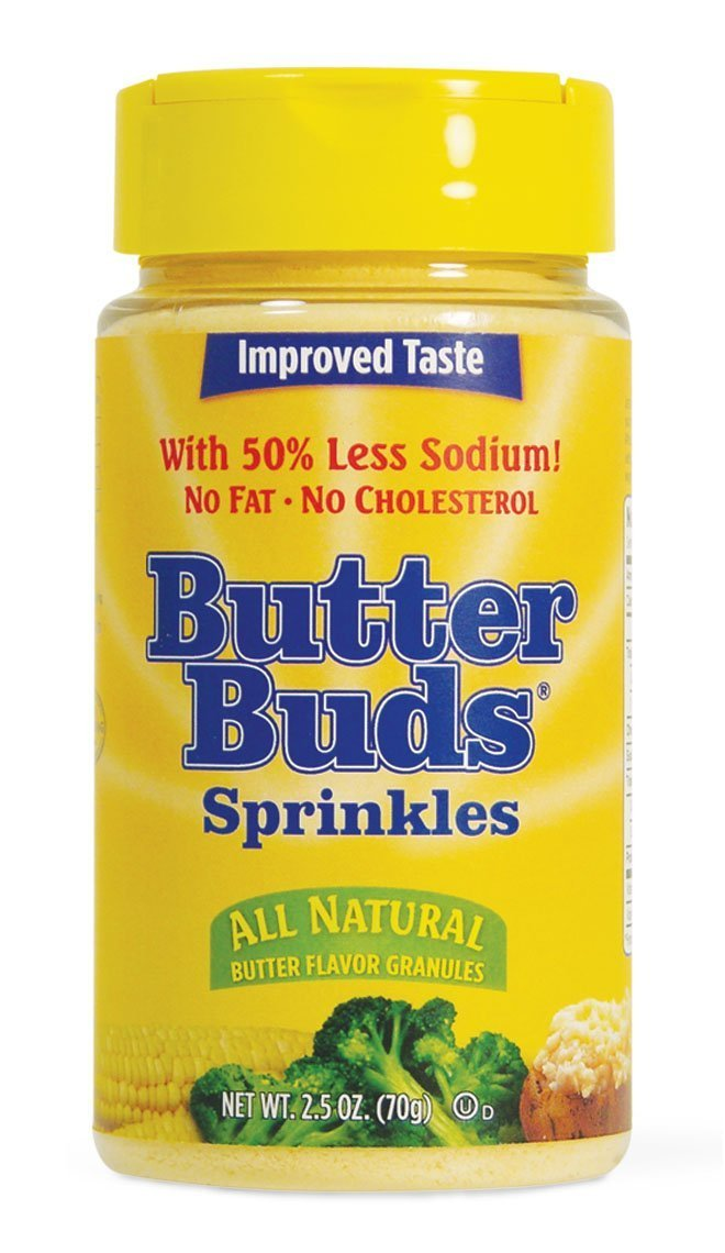 Butter Buds Sprinkles, 2.5-Ounce Canister (Pack of 2)