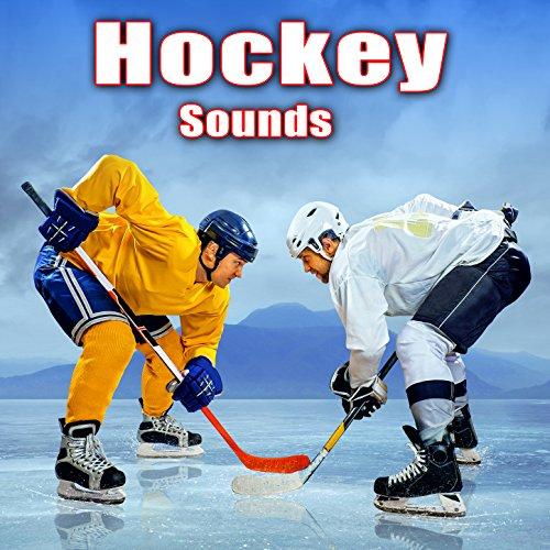 Ice Hockey Player Skating and Stick Handling