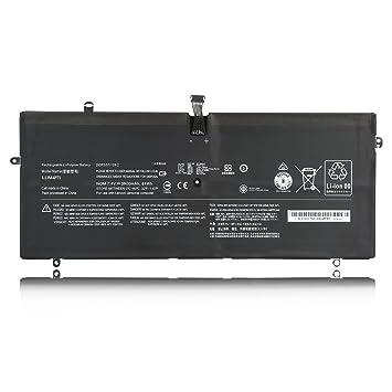 Emaks L13M4P71 Battery L14S4P71 for Lenovo Yoga 3 Pro 1370 5Y71 I5Y51 I5Y70 I5Y71 Pro-I5Y70(D) Pro-I5Y70(F) Pro-1370 80HE -7.6V 44Wh/5900mAh 4-Cell