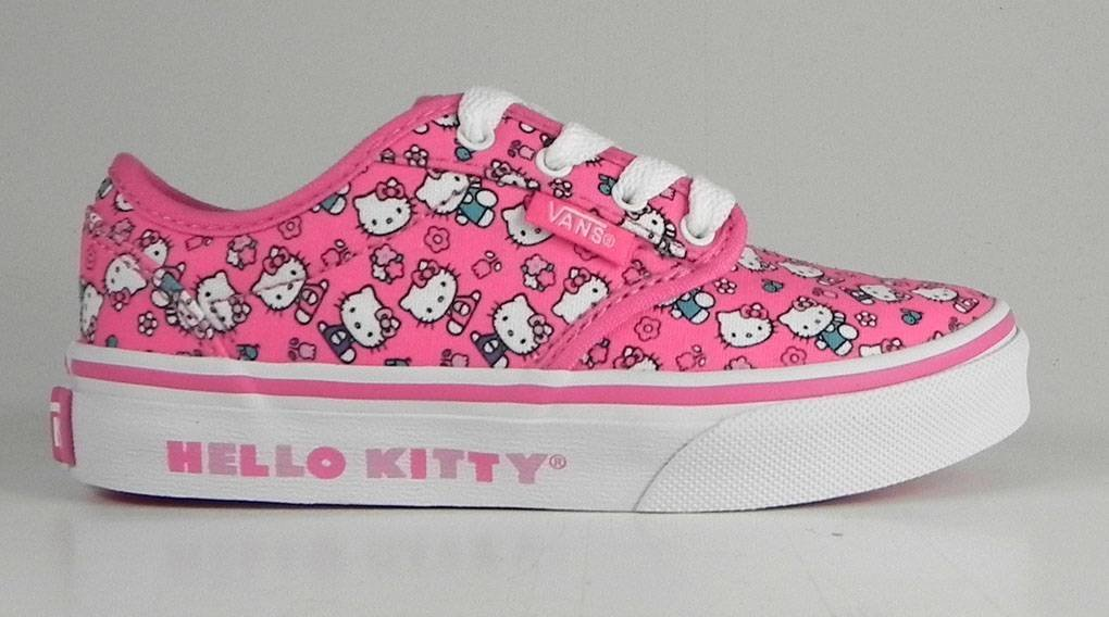 New Vans Atwood Youth size 2.5 Hello Kitty shoes