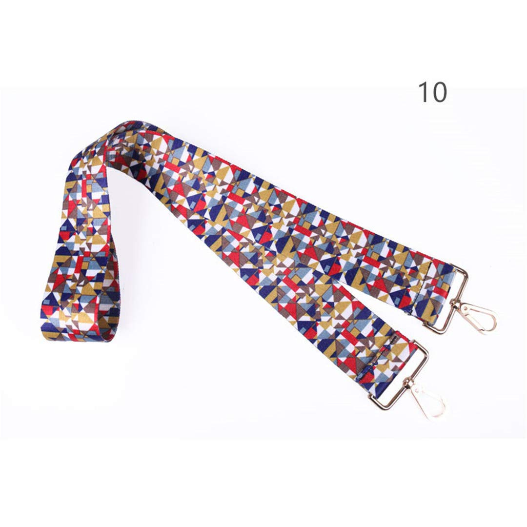 Colored Bags Straps Rainbow Belt Accessories Women Adjustable Shoulder Hanger Handbag Strap Decoration Handle Strap K10