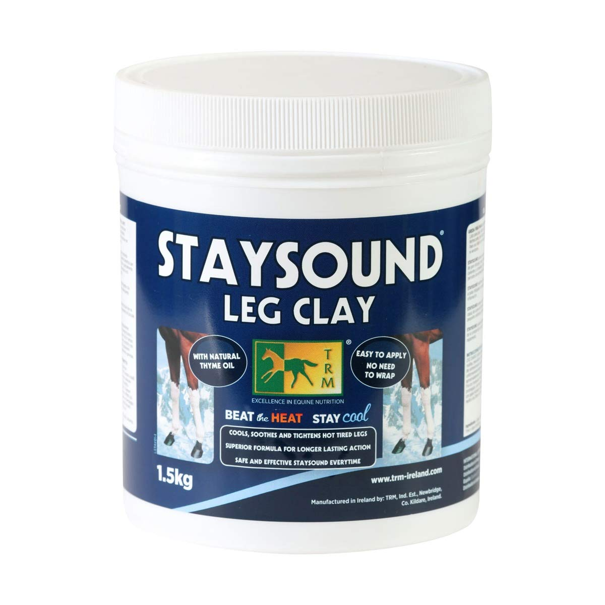 TRM Staysound Leg Clay (3.3lbs) (May Vary)