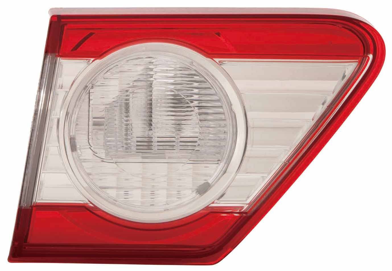 Depo 312-1319L-US Toyota Corolla Driver Side Inner Tail Lamp Assembly with Bulb and Socket