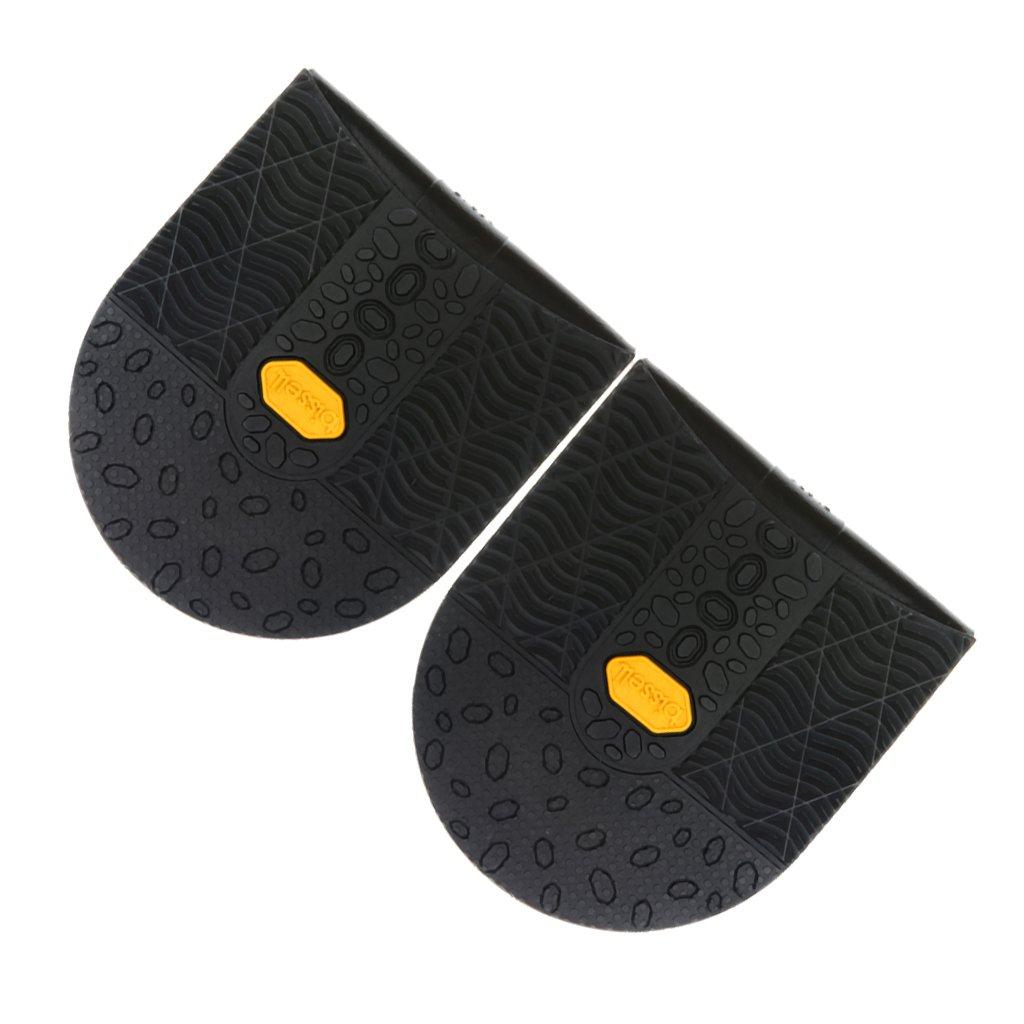 Gazechimp 1Paire Semelle Antid/érapant Solide Talon de Chaussures en Caoutchouc R/éparation Cordonnerie