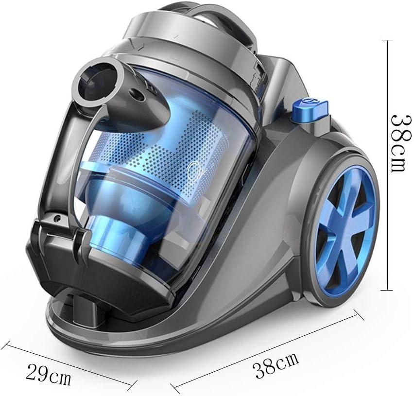 Aspiradora, 2000w Alfombra doméstica Horizontal Aspiradora silenciosa, Potente Aspiradora, Azul (38x29x38cm) Xuan - Worth Having: Amazon.es: Hogar