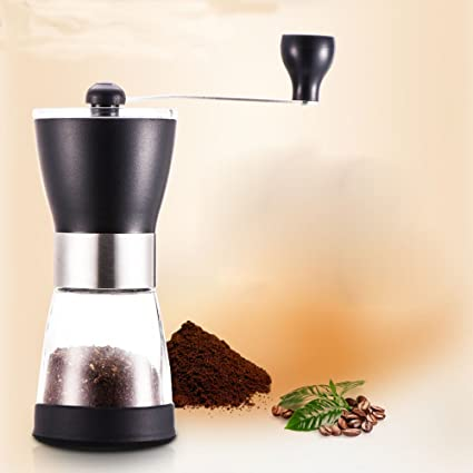 FJ Molino de Café Hecho a Mano Molino Mini Grinder Máquina de Café de Movimiento de