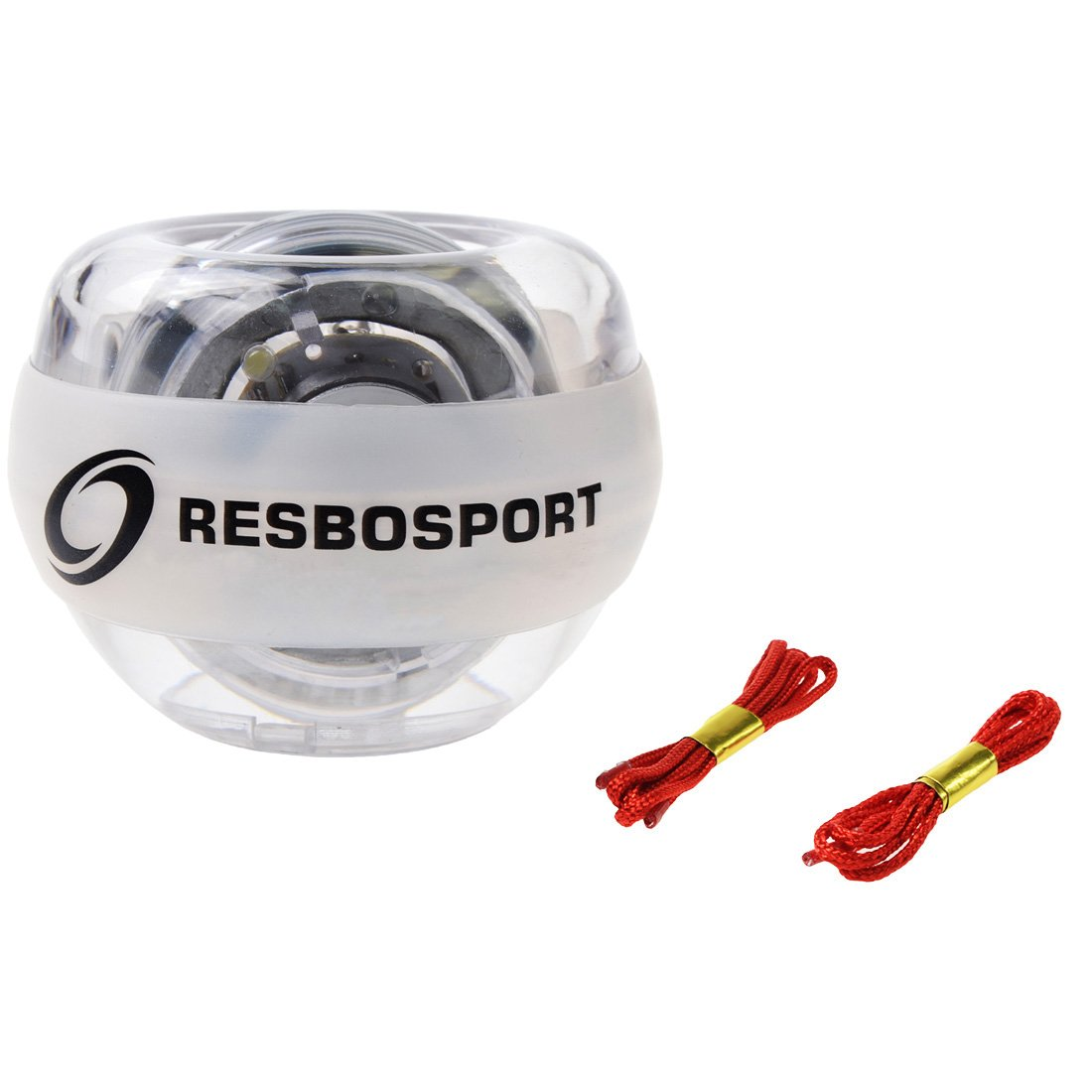 RESBO Wrist Trainer Ball Exerciser Hand Spinner Gyroscopic Ball Metal Type Gyro Ball with LED Light by RESBO SPORT (Image #8)
