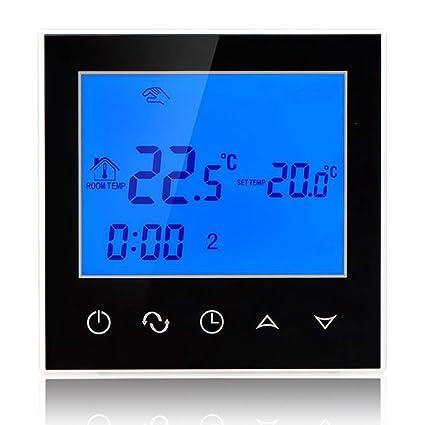 beok tds21-ep Digital termostato con pantalla táctil para calefacción por suelo radiante eléctrico central