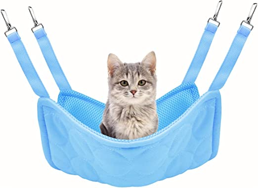 Idepet Cama de enfriamiento para gatos con hamaca para mascotas, colchoneta para gatos de doble uso y almohadilla para gatos: Amazon.es: Productos para mascotas