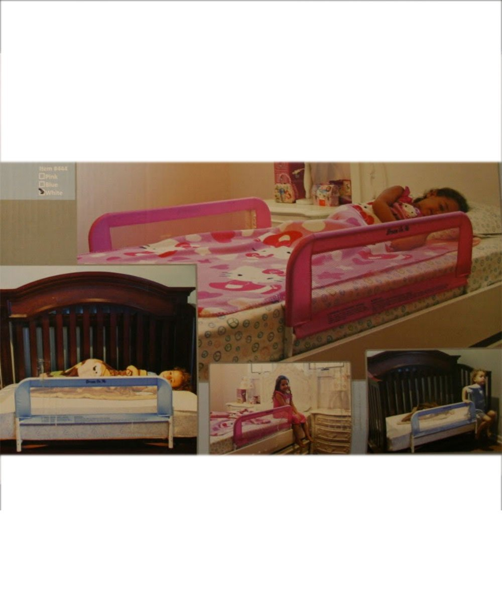 Amazon Dream On Me Mesh Security Crib Rail Pink Childrens Bed Safety Rails Baby