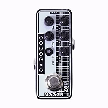 MOOER 007 Regal tono Micro preamplificador