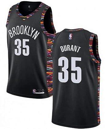 sports shoes d12a1 b5b76 Amazon.com: VF LSG Mens Brooklyn Nets #35 Kevin Durant ...
