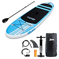 UBOWAY Inflatable Stand Up Paddle Board with Adjustable Paddle