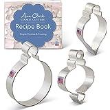 Christmas Ornament Cookie Cutter Set - 3 piece - Ann Clark - USA Made Steel