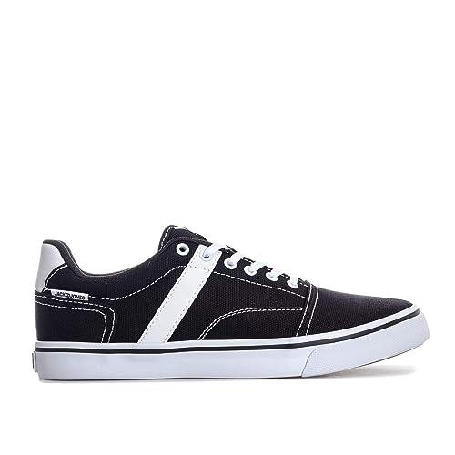 995f5cf791dafd JACK   JONES Herren Jfwcali Canvas Anthracite Sneaker  Amazon.de ...