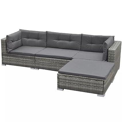 Amazon.com : Daonanba Garden Sofa Set Outdoor Furniture Set ...