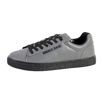 Versace Jeans Linea Cassetta Pers Dis 5 E0YSBSF5800, Trainers Grey ... 580591f6e78