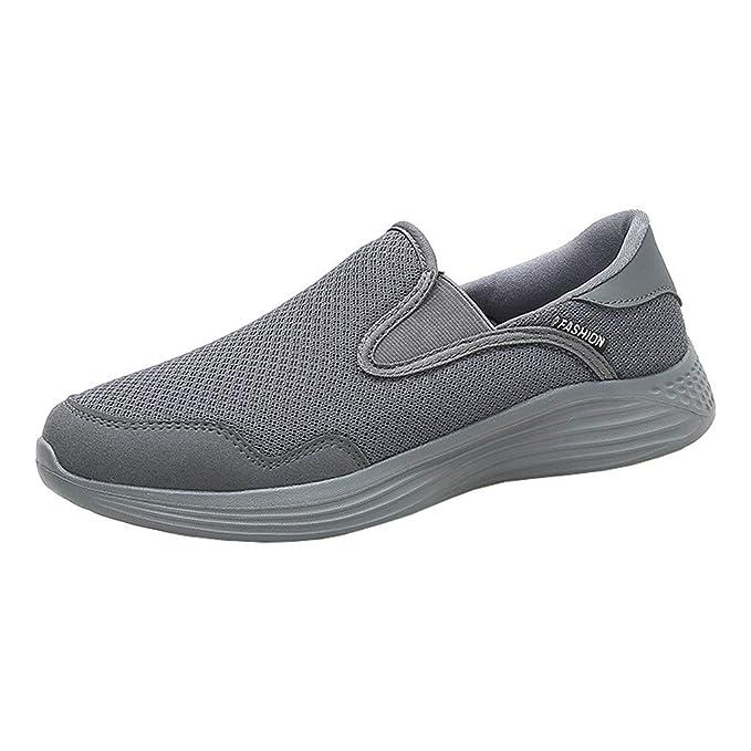 YUTING Zapatos Deporte Hombre Zapatillas Deportivas Correr ...