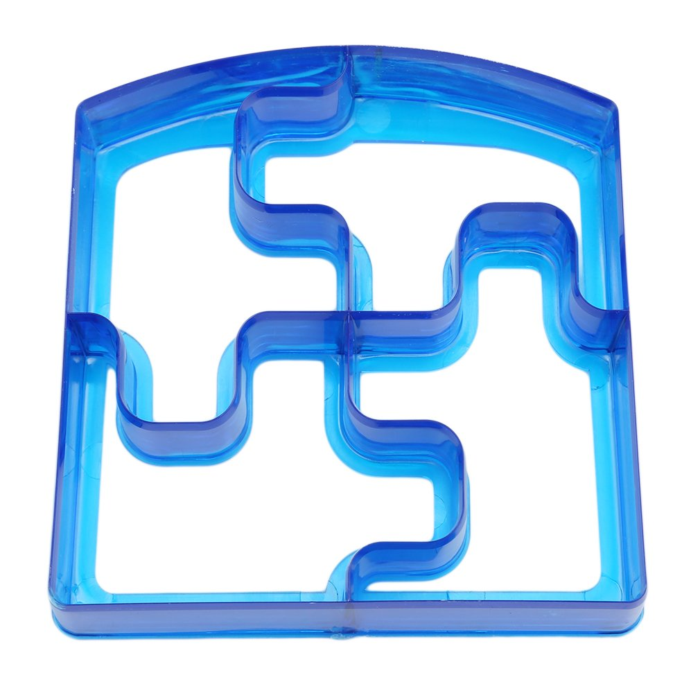 Meolin Fun Sandwich and Bread Cutter Biscuit Mold Cookie Cutter MakeLunchtime Fun,Puzzle,3.543.540.98in