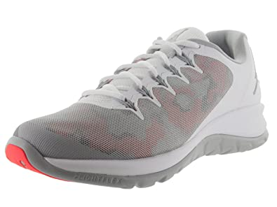 e14e3d39f74a Image Unavailable. Image not available for. Color  Jordan Nike Men s Flight  Runner 2 White Wolf Grey Infrared 23 ...