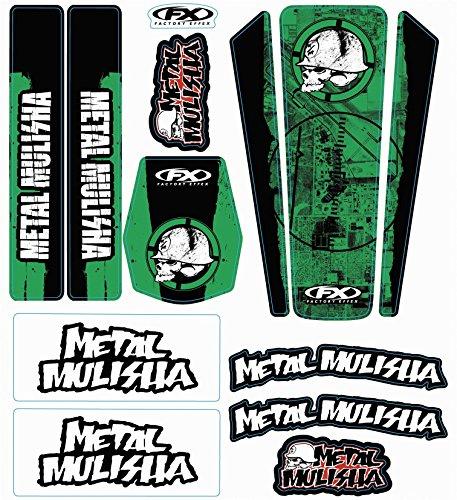 Factory Effex Metal Mulisha Universal Trim Kit - 2014 - Kawasaki -