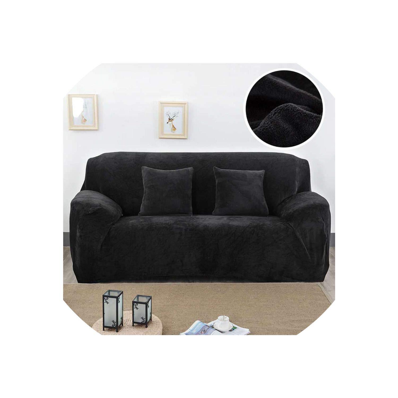 Amazon.com: Ches Plush Fabric Sofa Cover 1/2/3/4 Seater Euro ...