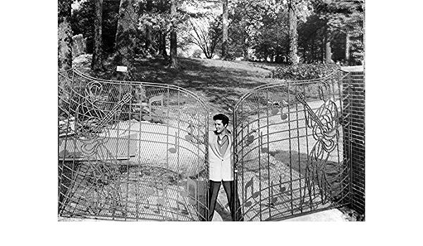 2008 ClassicPix Photo Print 11x17: Gates Graceland Tennessee Memphis