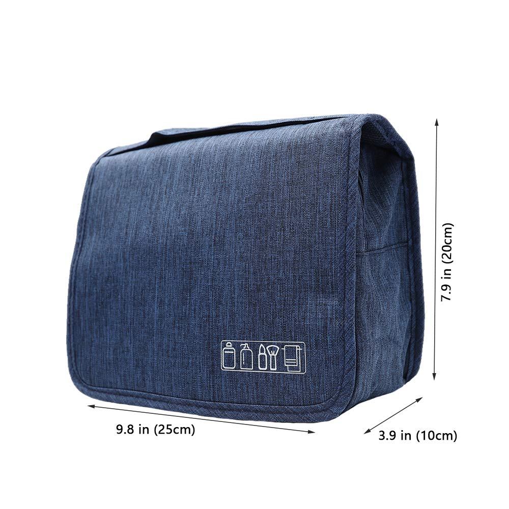 ioutdoor Products Beauty Case da Viaggio,impermeabile Appeso Trousse da Toilette,Multi-compartimenti per Organizzare Oggetti Personali per uomini e donne