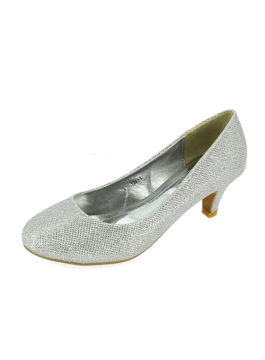 Zapatos de tacón para mujer, 6cm, para ceremonia o fiesta