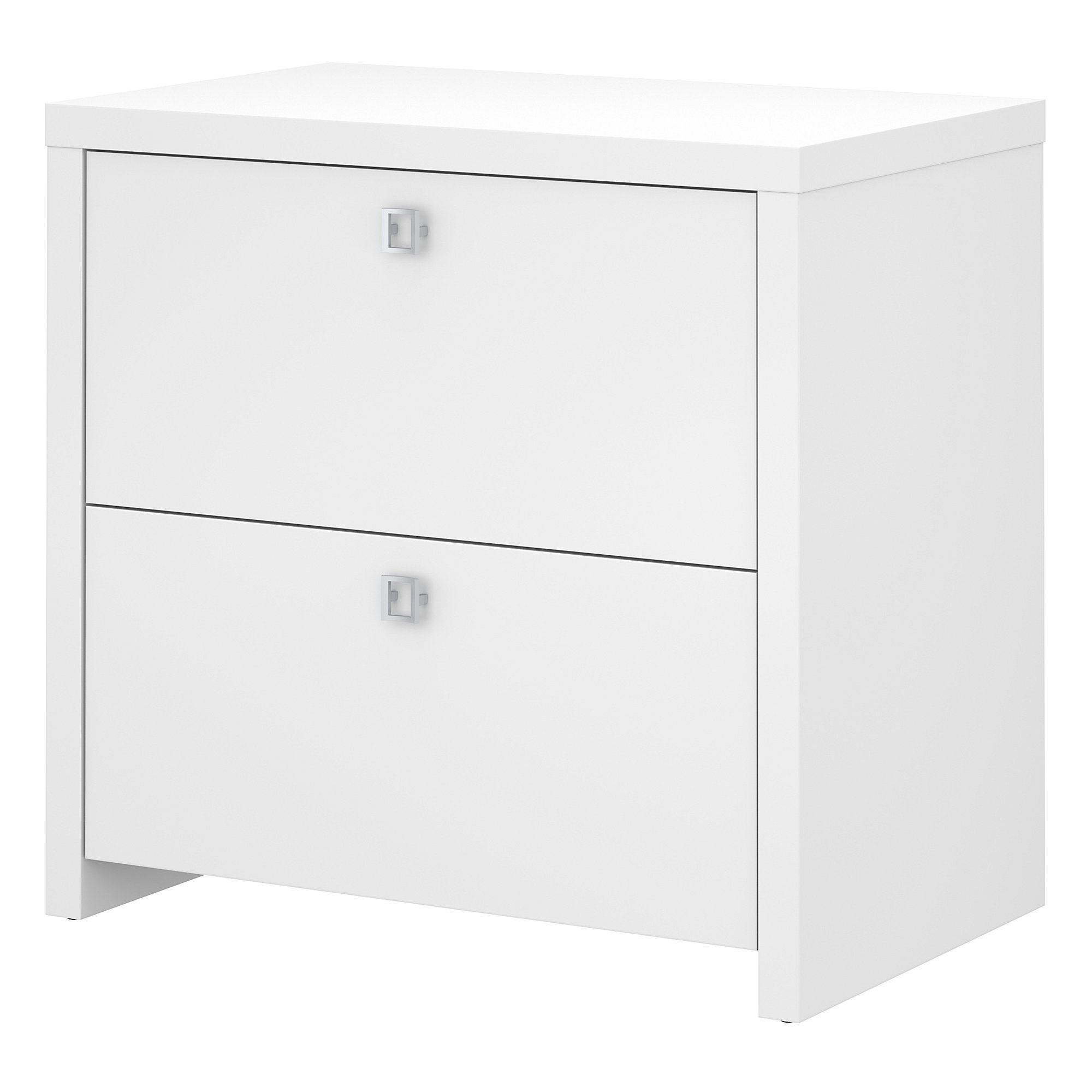 Office by kathy ireland Echo Lateral File Cabinet in Pure White by Office by kathy ireland