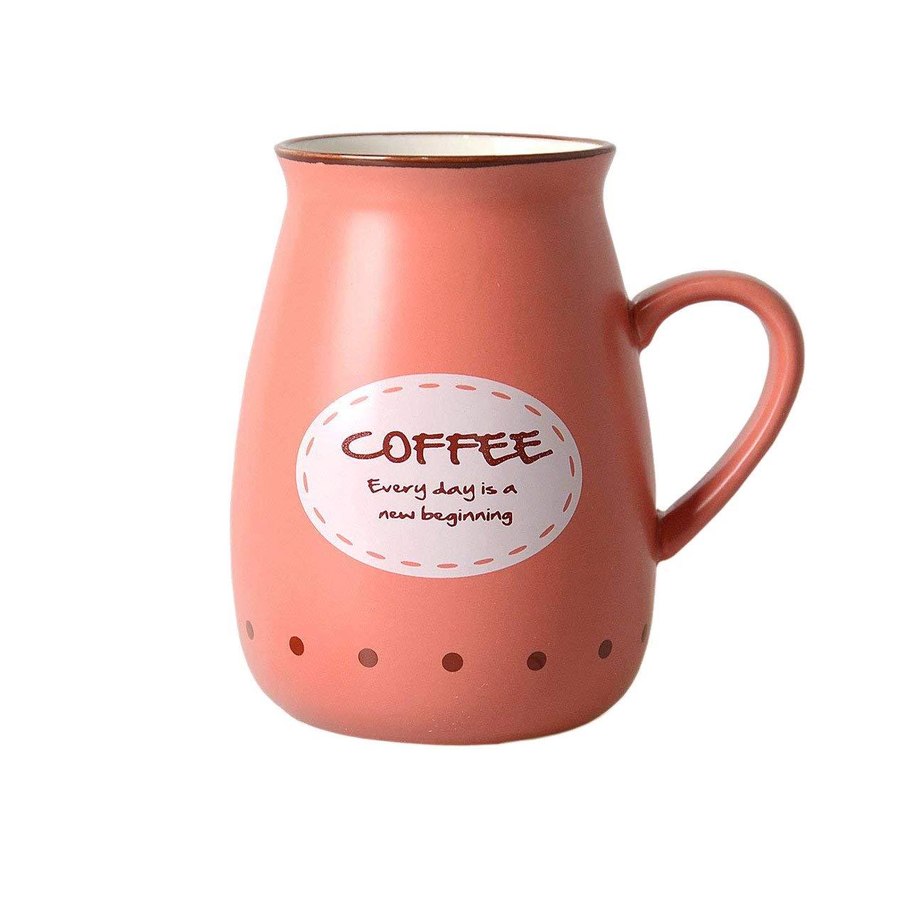 Hwagui - Cute Blue Ceramic Tea & Coffee Mug 200ml/6.8oz coffee-01