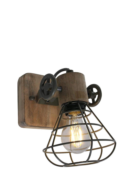 Deckenleuchte 1er Spotstrahler Steinhauer 1578G Wandlampe Vintage E27 Grün