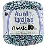 Aunt Lydia'S Classic Crochet Thread Size 10-Monet