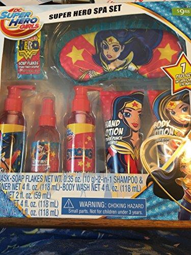 DC Comics DC Superhero Girls Spa Set Cosmetics (Spa Gloss Polish)