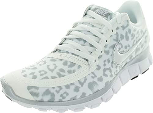 | Nike Free 5.0 WoHerren Running Shoe Leopard