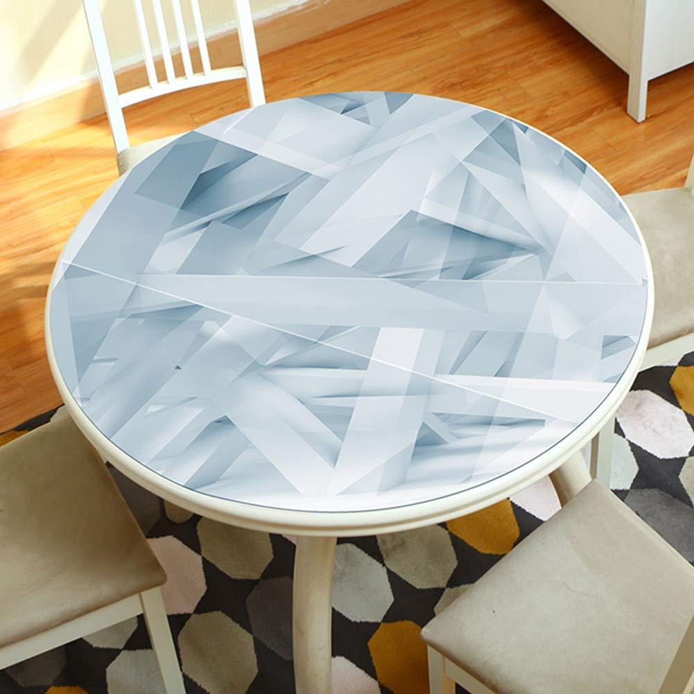 JIANFEI テーブルクロスラウンドテーブル 防水 変形なし PVC 、4色 、12サイズ カスタマイズ可能 (色 : B, サイズ さいず : 160cm) 160cm B B07MT1S8QH