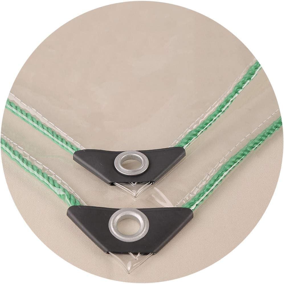 WUZMING-Lona de Protección PVC Transparente Ventana Balcón ...