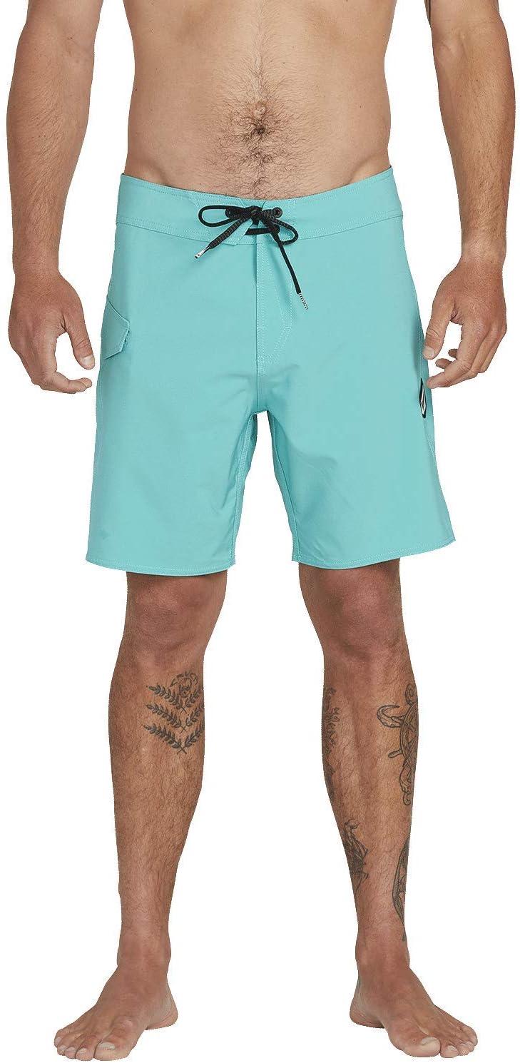 Volcom Lido Solid MOD 18 Uomo Costume da Bagno a Pantaloncino